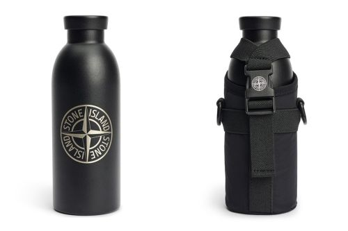 Stone Island's $275 USD Water Bottle Will up Your Hydration Game