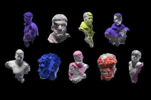 Jam Sutton Releases Augmented Reality NFT Sculptures Inspired by Ancient Statues