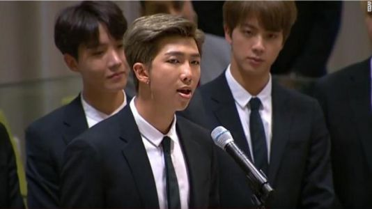 BTS make history as the first K-pop group to address the UN
