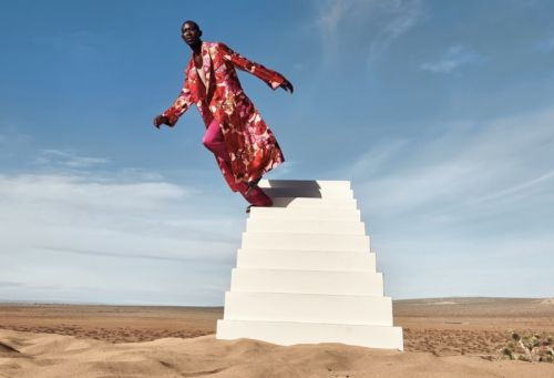 Armando Cabral Dons the Designer Collections for Neiman Marcus