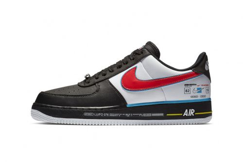 An Official Look at Nike's Racing-Inspired Air Force 1