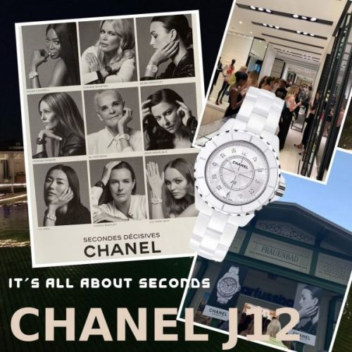 CHANEL J12 - It's All About Seconds
