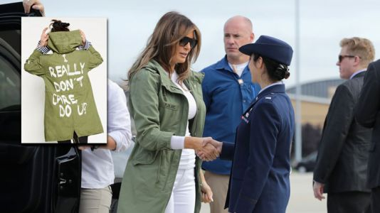 "Melania Trump Seemingly Wore a Jacket That Says ""I Really Don't Care"" to Visit Immigrant Kids"