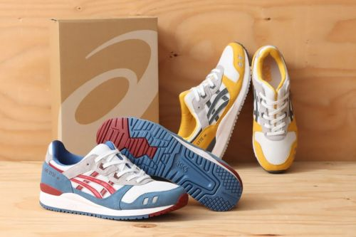 ASICS Supplies Two Sporty Takes on the GEL-LYTE III