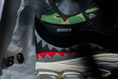 BAPE and New Balance Have a 2002R Collaboration in the Works