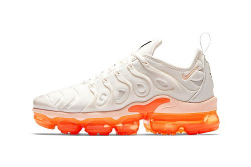 "Nike's Air VaporMax Plus ""Creamsicle"" Welcomes the Summer Season"
