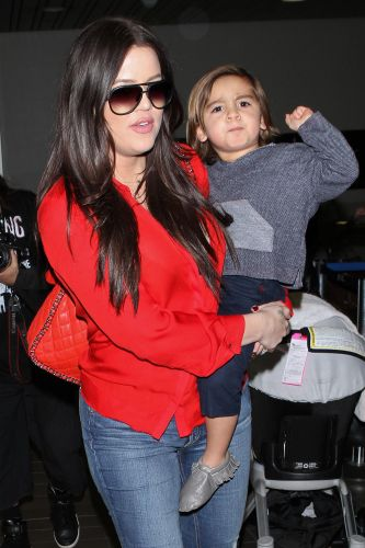 Quirky Decor! Khloe Kardashian Has a Life-Size Cardboard Cutout of Nephew Mason Disick in Her House
