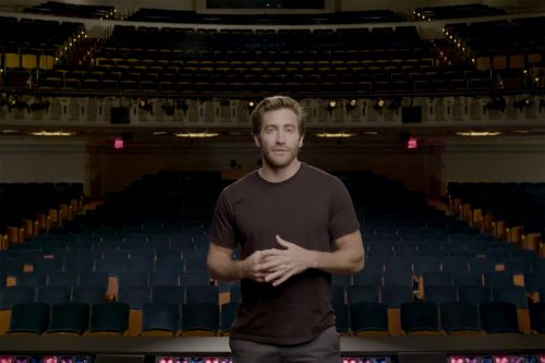 Jake Gyllenhaal shows love for City Center on 75th anniversary