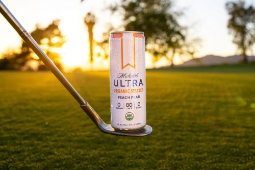 Michelob ULTRA Organic Seltzer Will Keep Golfers Refreshed as Alcohol Partner for the First-Ever HYPEGOLF Invitational
