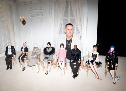 Moschino Spring 2021 ready-to-wear fashion puppet show