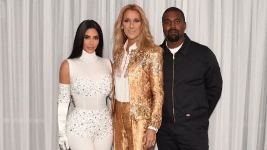 Kanye West Surprises Kim Kardashian With a Celine Dion Concert for Their 5th Anniversary