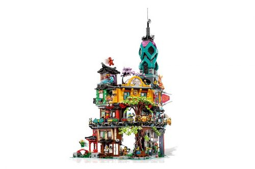 LEGO Celebrates 10 Years of NINJAGO With 5865-Piece City Gardens Set