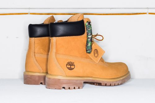 UNDEFEATED x BAPE x Timberland's Boot Collab Gets Official Images & Info