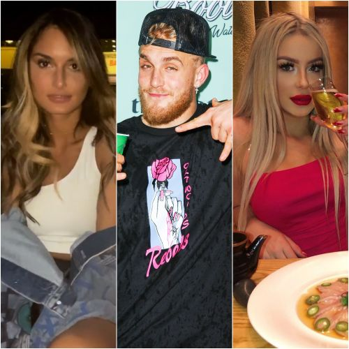 Jake Paul Hangs Out With New GF Julia Rose in Las Vegas While Tana Mongeau Takes London By Storm