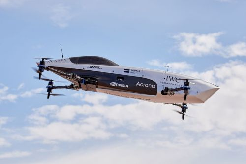 Airspeeder Reaches New Heights with Racing Series for Flying Cars