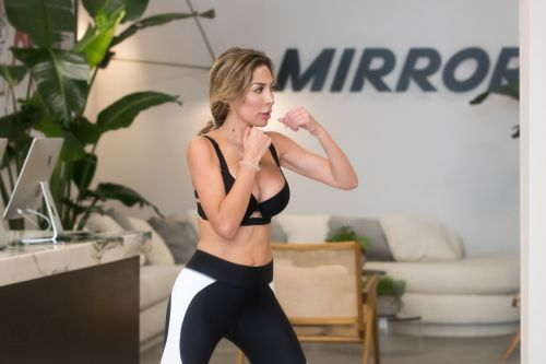 Farrah Abraham Flaunts Her Toned Tummy While Working Out in NYC: See Pics!