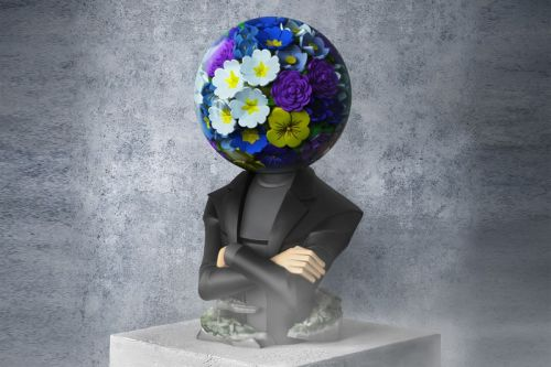 Azuma Makoto Explores the Relationship Between Man and Floral Kind in Limited Collectible Launch