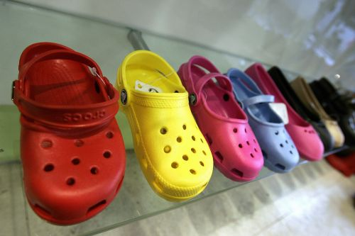 Crocs shares hit all-time high as pandemic fuels torrid demand