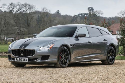 One-Off Maserati Quattroporte Shooting Brake Heads to Auction