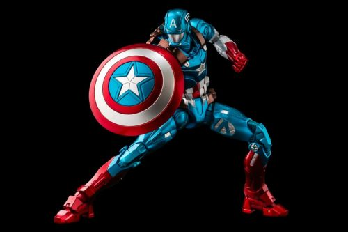 Here's What Marvel's Captain America Would Look Like As Iron Man
