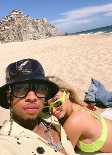 Kylie Jenner's Ex Tyga Sparks Engagement Rumors as Camaryn Swanson Steps Out With Ring on *That* Finger