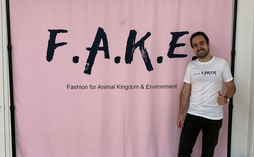 Vegan fashion movement FAKE launches first exhibition in Los Angeles