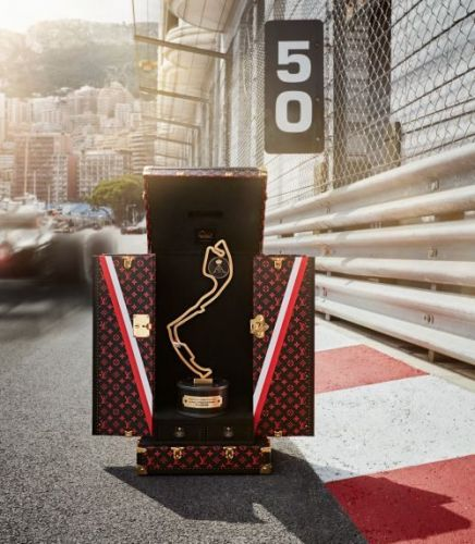 Louis Vuitton Reveals Monaco Grand Prix Trophy Case