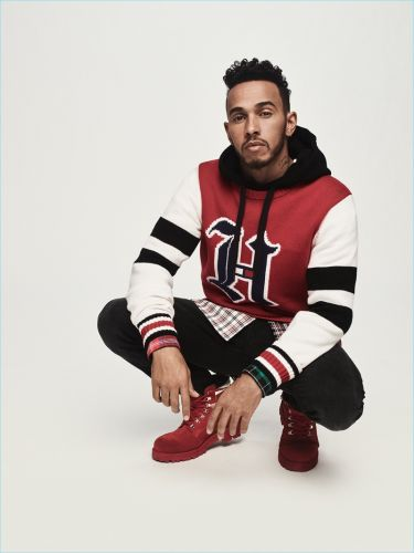 TommyxLewis: Lewis Hamilton Collaborates with Tommy Hilfiger for Fall '18 Collection