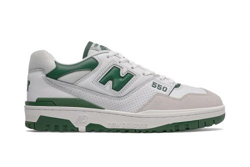 New Balance's Popular 550 Appears in White and Green
