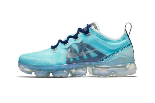 "Nike Air VaporMax 2019 Refreshes in ""Teal Tint/Blue Void"""