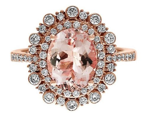 Pink Diamond Engagement Rings Exist-and They're as Cute as You'd Expect