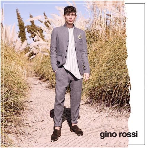 Bart Taylor Fronts Gino Rossi Spring '19 Campaign