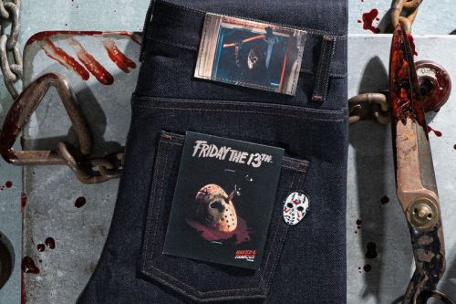 Naked & Famous Denim Teams Up With 'Friday the 13th' Just in Time for Halloween