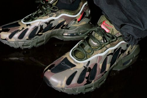 The Supreme x Nike Air Max 96 Collection Serves See-Through Style in This Week's Best Footwear Drops