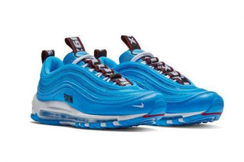 """Nike's Air Max 97 Receives a """"Blue Hero"""" Makeover"""
