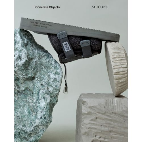 The Concrete Objects and Suicoke Collab Proves It's Never Too Late for Slides