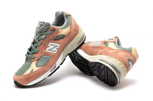 Earthy Tones Outfit This Striking Patta x New Balance 991 Collaboration