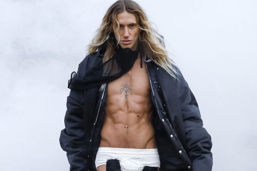 Rick Owens Rips and Tears for FW21