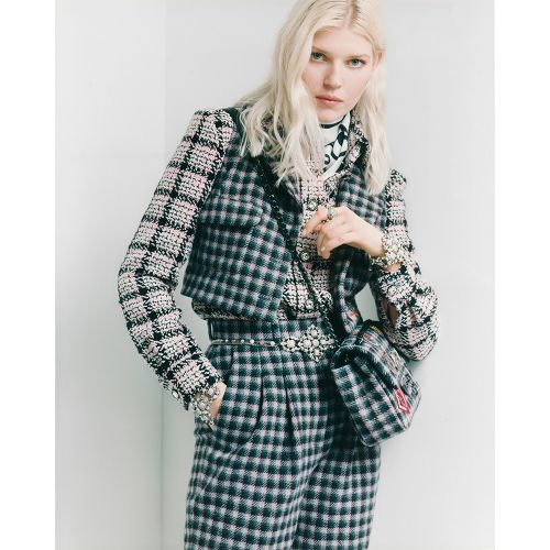 Ola Rudnicka is the Face of Chanel's Pre-Fall 2021 Collection