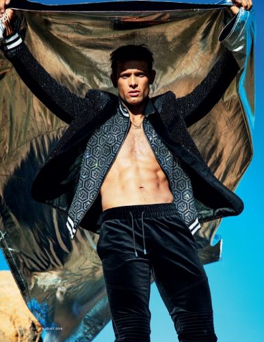 Elliott Reeder Rocks Philipp Plein for British GQ