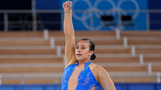 Costa Rican Gymnast Concludes Olympic Floor Routine With Black Lives Matter Protest