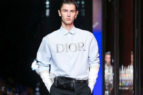 Dior FW20 Disrupted Elegant Tailoring With Judy Blame's Raw Energy