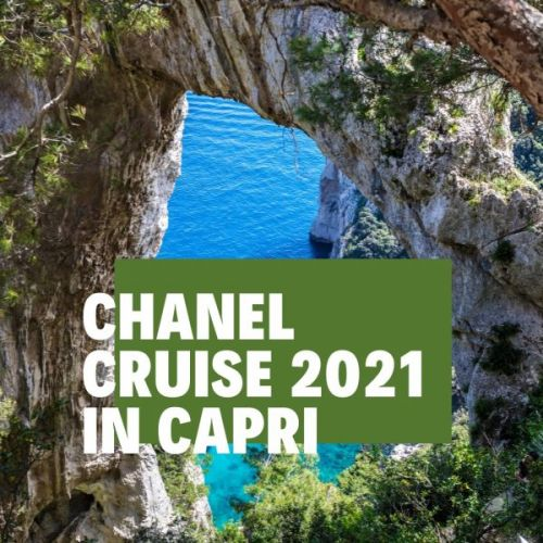 CHANEL Cruise 2021 in Capri