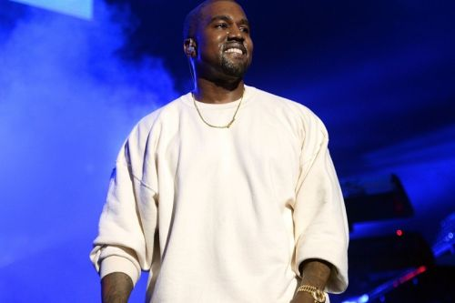Kanye West Seen Wearing New YZY BSKTBL Quantum Colorway