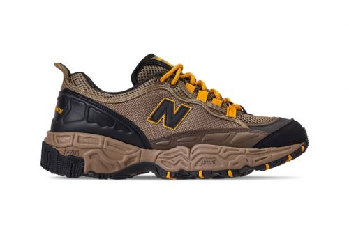 """The New Balance 801 Receives a Trail-Ready """"Brown/Yellow"""" Makeover"""