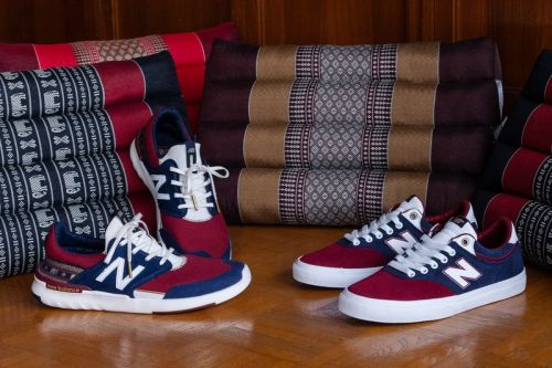 New Balance and Preduce Revamp Numeric Silhouettes With Thai Pillow Patterns