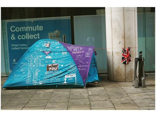 Jermaine Francis's New Photo Exhibition 'The Invisibles' Supports The Housing and Homelessness Charity Shelter