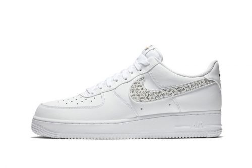"Nike's Air Force 1 Low Is the Latest Model to Join The ""Just Do It"" Pack"