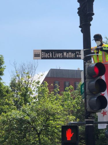 D.C. Mayor Muriel Bowser Renames Intersection Near White House Black Lives Matter Plaza