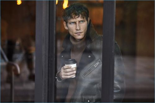 Belstaff Taps Roch Barbot for Fall '18 Campaign